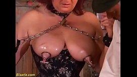 Extreme german mature slave...