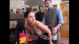 Sklavin den Kollegen zum benutzen vorgestellt - Slave - Sub elephantube.com