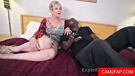 Busty Granny Creampie Video...