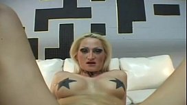 Alira Astro showing tattoos...