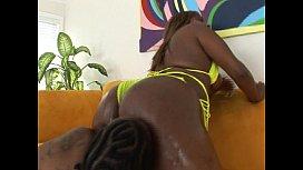 Ebony fat ass chick...