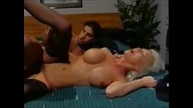 Blonde big-tits beauty...