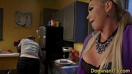Transgender babes analfuck and...