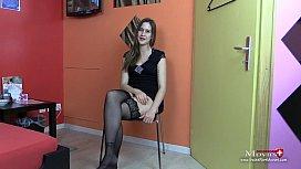Porn Interview mit Candy...