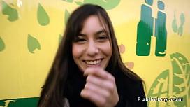 Romanian hottie gets anal...