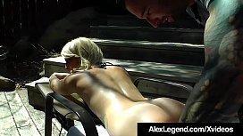 Hot Blonde Skylar Madison...