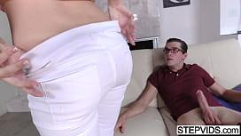 Fucking his horny stepsis...