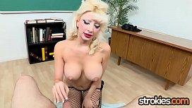 Big Titty Teacher Natasha...