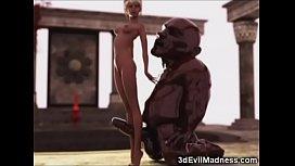 3D Slender Girl vs...