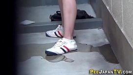 Japanese teen sluts pee...