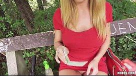 Huge Tits Blonde Eurobabe...