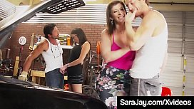 Famous PAWG Sara Jay...