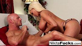 Russian Milf Nikita takes...