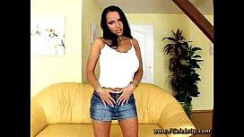Laura pleasuring herself...