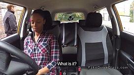 Driving examiner and ebony...