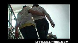 Little Caprice hooks up...