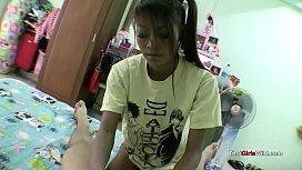 Thai girl in her...