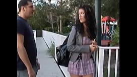 Schoolgirl Gets Knocked-Up...