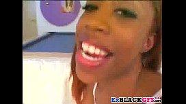 Ebony teen Precious is...