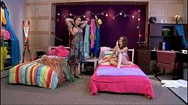 Brunette Lesbian Scene