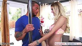 Busty wife Natalia Starr...