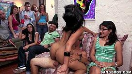 Pornstars Raid Campus Dorm Room Full Of College Boys! www.xvideoservice .com