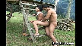Wild Barebacking Latino Gay...