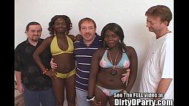 Spring Break Group Sex...