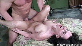 Hard nippled milf Brandi...