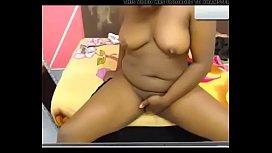 ebony teen webcam cum