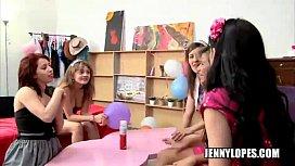 Lesbianas latinas en una...
