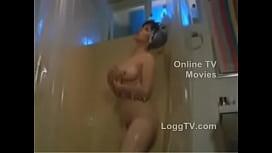 Hairy Rebeca Silva on Shower