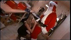 Nicole Berg fucks Santa...