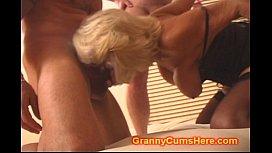 Granny gets a GANG...