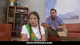 FamilyStrokes - Asian teen Fucked...