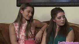 Horny lesbians Aidra Fox...