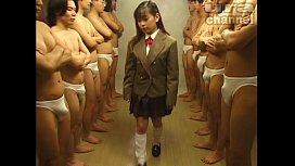 Bukkake Highschool Lesson 19 Japanese uncensored blowjob