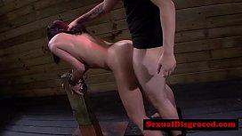 Ava Kelly swallows cum...