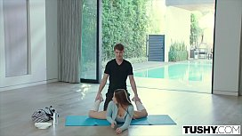 TUSHY Flexible Dancer Gapes...