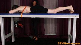 CFNM Carla Cox gives...