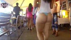 Big ass walking on...