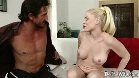 Swinging blonde wife Nikki...