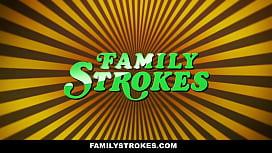 FamilyStrokes - Cute Step-Sis Seduce ...