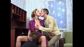 Mature Russian slut fucked...