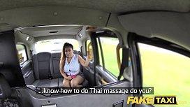 Fake Taxi Thai masseuse...
