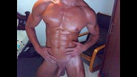 Hot dude on webcam...