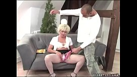 Interracial granny fuck - Effie...