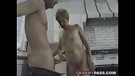 Granny Fucks Young Dick...