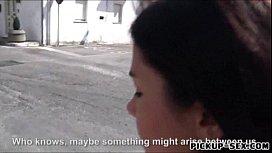 Valentina Nappi flashes her...