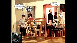 Familia incestuosa comic Parte...